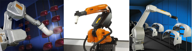 Использование роботов в покрасочном производстве